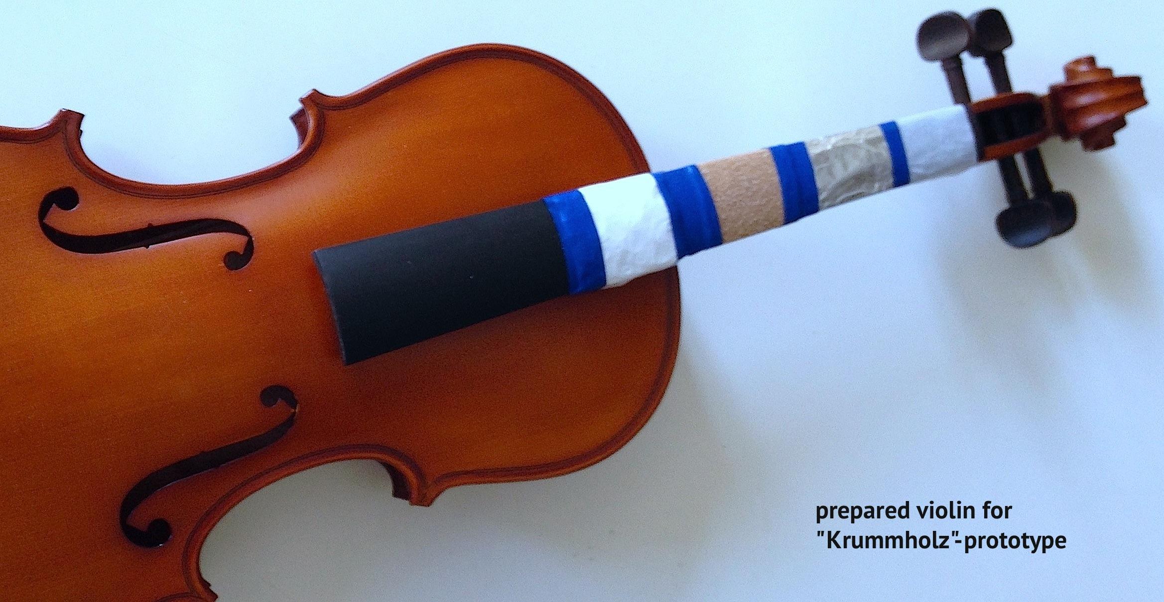 Prepared-violin-didascalia